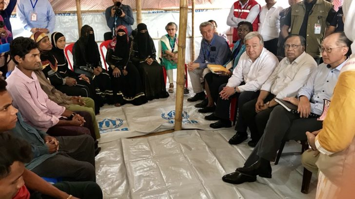 Rohingyas want justice and a safe return home: UN Chief