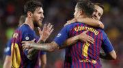Messi, Coutinho get Barcelona off to winning start in La Liga