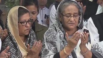 PM pays tribute to Bangabandhu at Tungipara