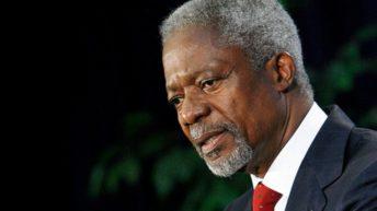 Kofi Annan, former UN chief, dies at 80