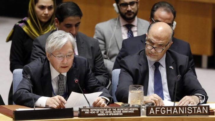 Afghanistan is in best position for peace talks: UN envoy