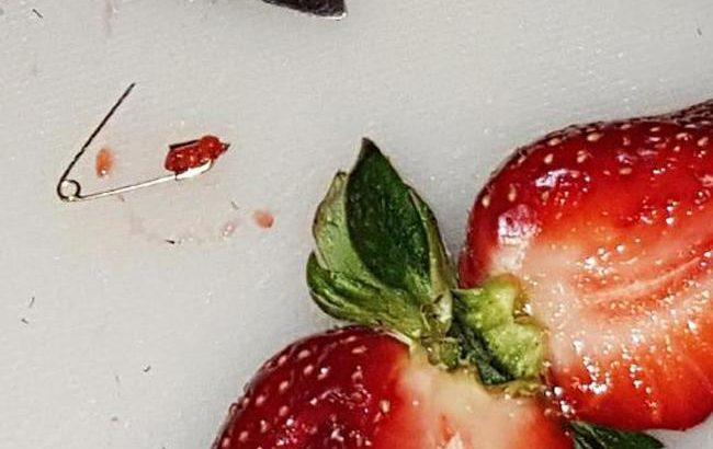 Australian state offers $70,000 reward as strawberries sabotaged with needles
