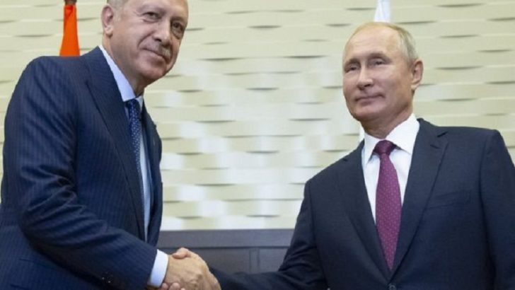 Syria war: Russia and Turkey to create buffer zone in Idlib