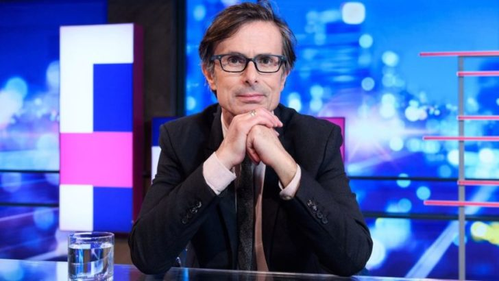 Robert Peston's 'guilt' at finding love after wife's death
