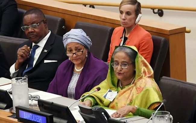 Invest in education, Sheikh Hasina urges global community