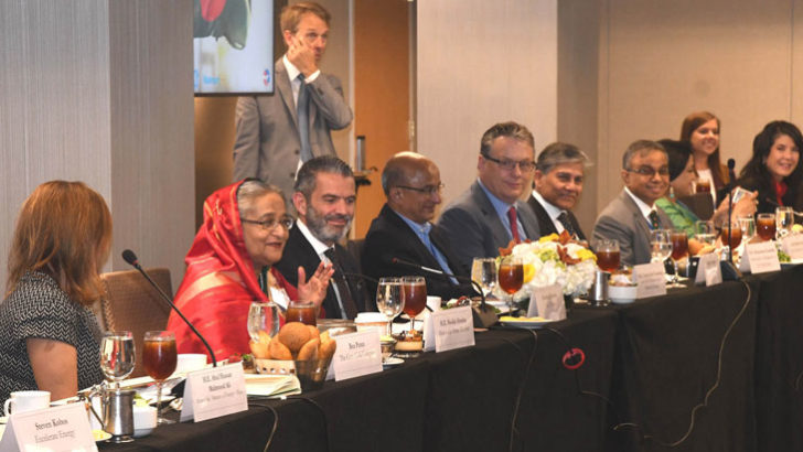 PM urges US businessmen to invest in Bangladesh