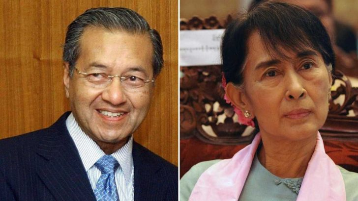 Suu Kyi lost Malaysia's support for her role against Rohingya: Mahathir He says he lost all faith in her