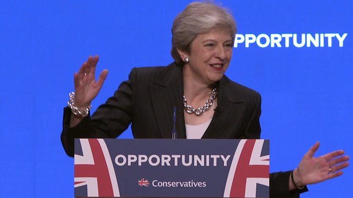 Theresa May: Tories must be a party for everyone