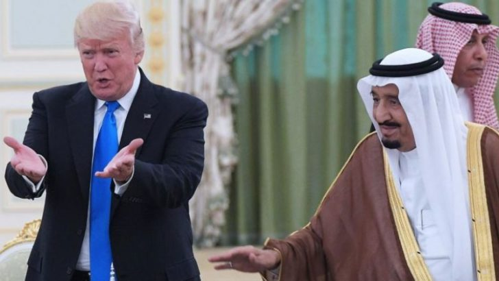 Trump: I told Saudi king he wouldn't last without US support