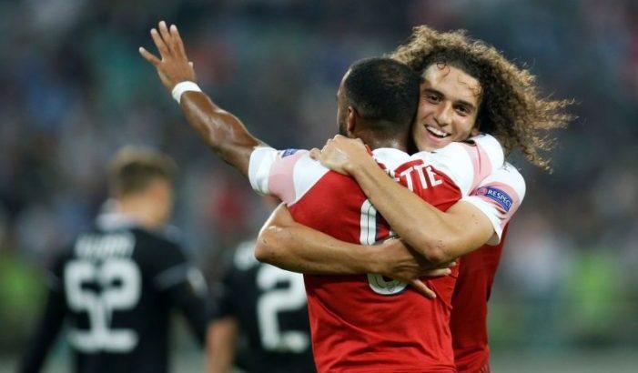 Europa League:Arsenal, ACMilan register wins; Krasnodar beat Sevilla