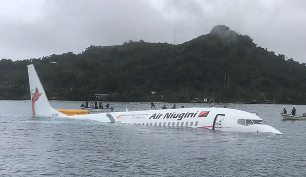 4 remain in hospital after Pacific lagoon plane crash
