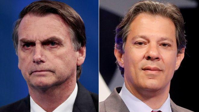 Brazil election: Far-right Jair Bolsonaro wins first round