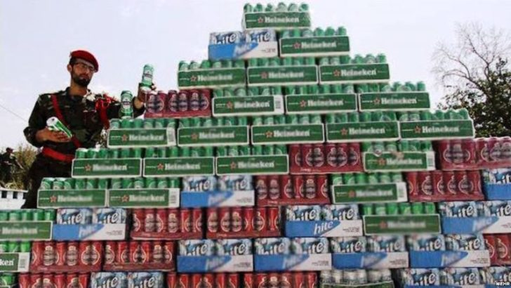 Contaminated bootleg alcohol kills at least 42 in Iran