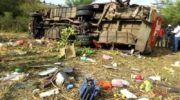 Kenya bus crash kills at least 40