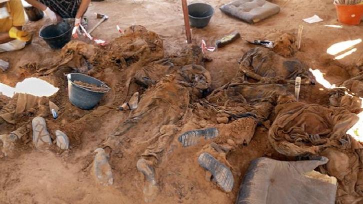 75 bodies found in mass grave near Libya's Sirte