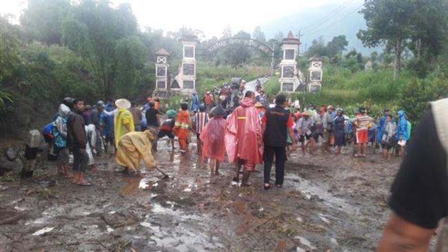 Floods, landslides in Indonesia leave 22 dead, 15 missing