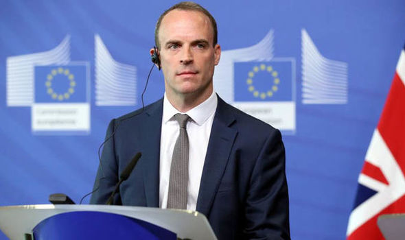 It's time for EU to get serious on Brexit, says Dominic Raab