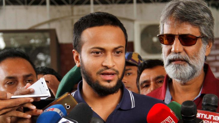 Shakib returns home: Hopes to back to field within a month