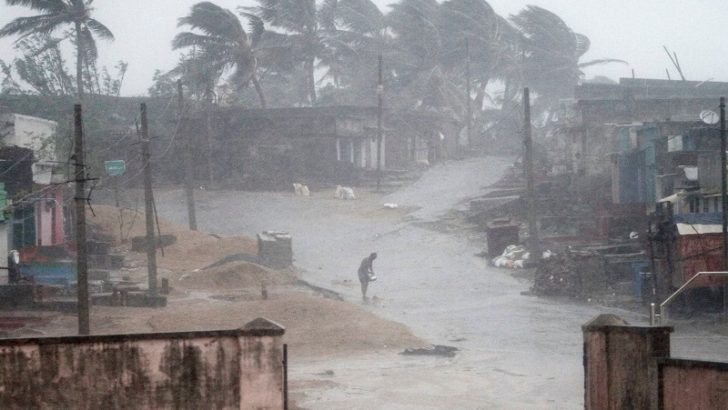 12 feared dead in India cyclone shelter swamped by landslide