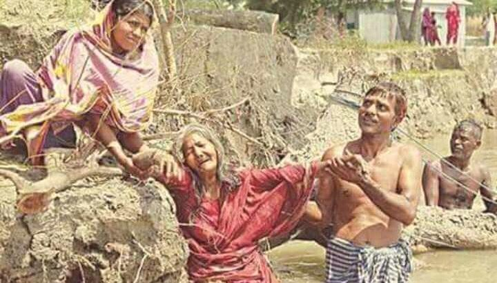 EU comes up with Tk 7.8m aid for Shariatpur erosion victims
