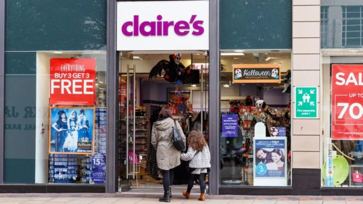 Claire's 'considers UK store closures'