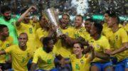Brazil's Miranda Silences Argentina With Last Gasp Winner