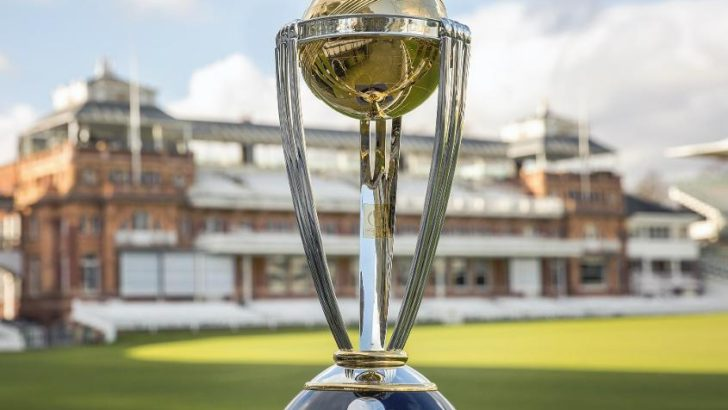 ICC World Cup trophy arrives in Dhaka