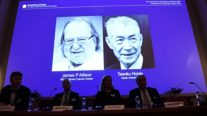 James Allison, Tasuku Honjo win Nobel Prize in Medicine for cancer research