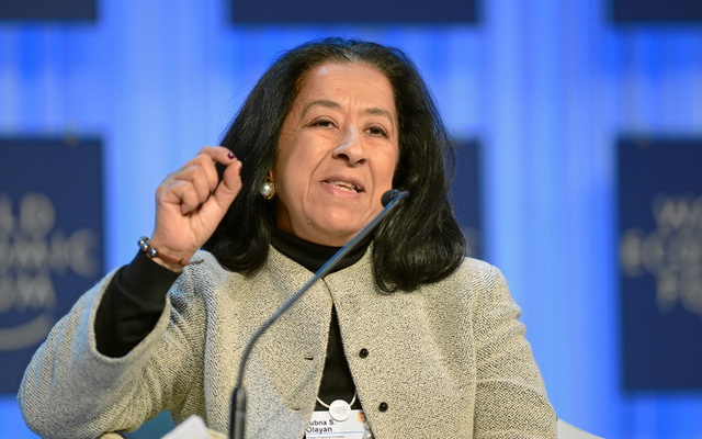 Lubna Al Olayan appointed as first woman Saudi bank head