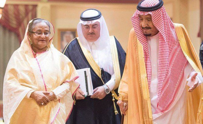 PM Sheikh Hasina calls on Saudi King Salman