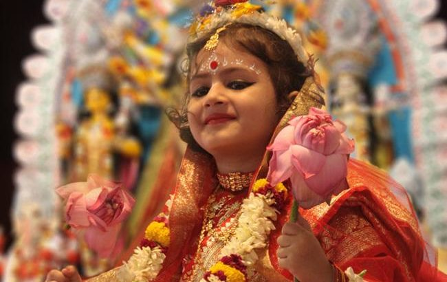 Kumari Puja marks Maha Ashtami celebrations